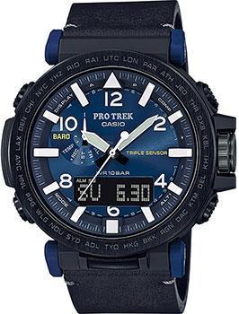 Японские наручные  мужские часы Casio PRG-650YL-2ER. Коллекция Pro-Trek