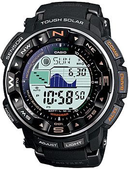 Японские наручные мужские часы Casio PRW-2500-1E. Коллекция Pro-Trek