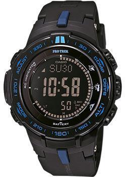 Японские наручные мужские часы Casio PRW-3100Y-1E. Коллекция Pro-Trek