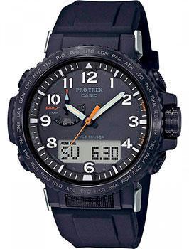 Японские наручные  мужские часы Casio PRW-50Y-1AER. Коллекция Pro-Trek