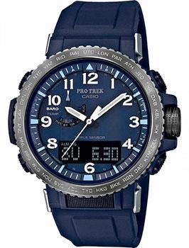 Японские наручные  мужские часы Casio PRW-50YFE-2AER. Коллекция Pro-Trek