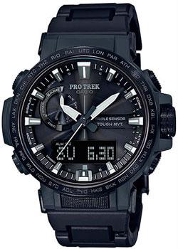 Японские наручные  мужские часы Casio PRW-60FC-1AER. Коллекция Pro-Trek