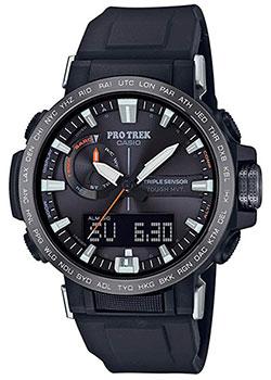 Японские наручные мужские часы Casio PRW-60Y-1AER. Коллекция Pro-Trek фото