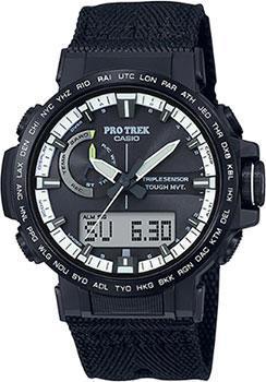 Японские наручные  мужские часы Casio PRW-60YBM-1AER. Коллекция Pro-Trek