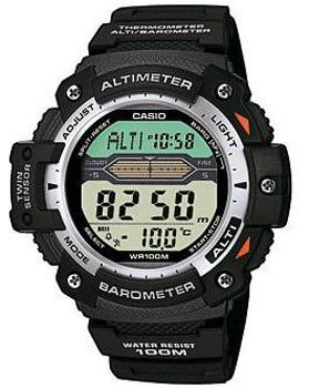Японские наручные  мужские часы Casio SGW-300H-1A. Коллекция Pro-Trek
