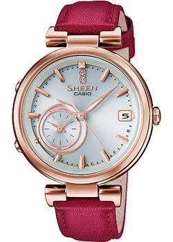 Японские наручные  женские часы Casio SHB-100CGL-7A. Коллекция Sheen