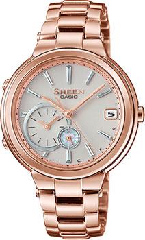 Японские наручные  женские часы Casio SHB-200CG-9A. Коллекция Sheen
