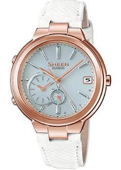 Японские наручные  женские часы Casio SHB-200CGL-7A. Коллекция Sheen