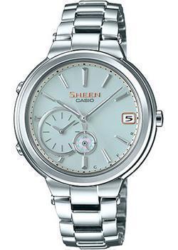 Японские наручные  женские часы Casio SHB-200D-7A. Коллекция Sheen