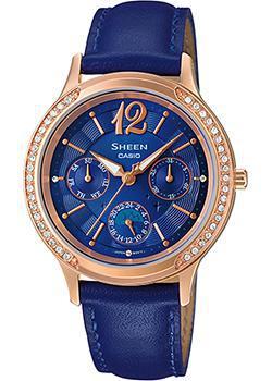 Японские наручные  женские часы Casio SHE-3030GL-2A. Коллекция Sheen