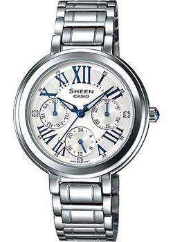 Японские наручные  женские часы Casio SHE-3034D-7A. Коллекция Sheen