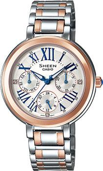 Японские наручные  женские часы Casio SHE-3034SG-7A. Коллекция Sheen