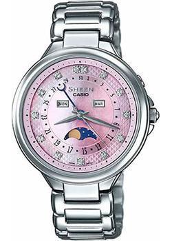 Японские наручные  женские часы Casio SHE-3044D-4A. Коллекция Sheen