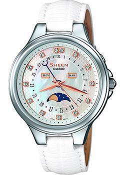 Японские наручные  женские часы Casio SHE-3045L-7A. Коллекция Sheen