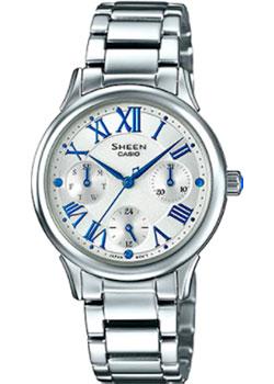 Японские наручные  женские часы Casio SHE-3049D-7A. Коллекция Sheen