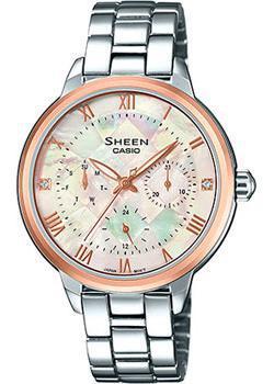 Японские наручные  женские часы Casio SHE-3055SG-7A. Коллекция Sheen