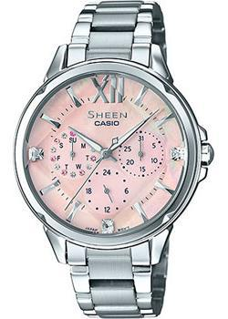 Японские наручные  женские часы Casio SHE-3056D-4A. Коллекция Sheen