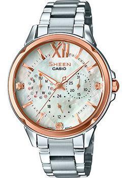 Японские наручные  женские часы Casio SHE-3056SG-7A. Коллекция Sheen