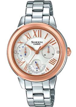 Японские наручные  женские часы Casio SHE-3059SG-7A. Коллекция Sheen