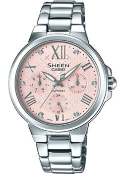 Японские наручные  женские часы Casio SHE-3511D-4A. Коллекция Sheen