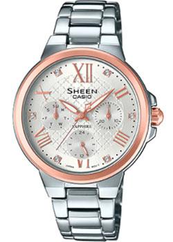 Японские наручные  женские часы Casio SHE-3511SG-7A. Коллекция Sheen