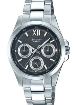 Японские наручные  женские часы Casio SHE-3512D-1A. Коллекция Sheen
