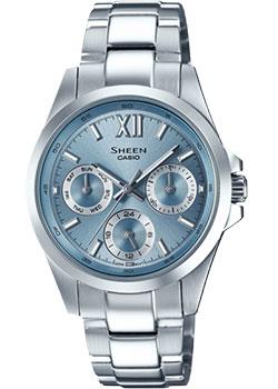 Японские наручные  женские часы Casio SHE-3512D-2A. Коллекция Sheen