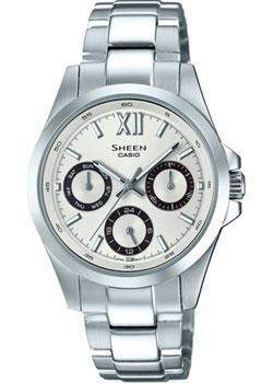 Японские наручные  женские часы Casio SHE-3512D-7A. Коллекция Sheen