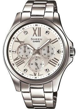 Японские наручные  женские часы Casio SHE-3806D-7A. Коллекция Sheen