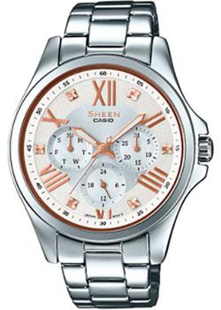 Японские наручные  женские часы Casio SHE-3806D-7B. Коллекция Sheen