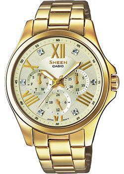 Японские наручные  женские часы Casio SHE-3806GD-9A. Коллекция Sheen
