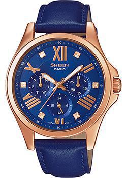 Японские наручные  женские часы Casio SHE-3806GL-2A. Коллекция Sheen
