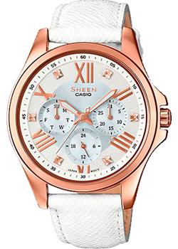 Японские наручные  женские часы Casio SHE-3806GL-7A. Коллекция Sheen