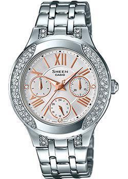 Японские наручные  женские часы Casio SHE-3809D-7A. Коллекция Sheen