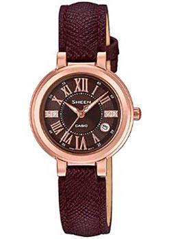 Японские наручные  женские часы Casio SHE-4029PGL-5A. Коллекция Sheen