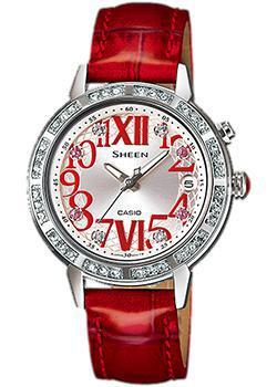 Японские наручные  женские часы Casio SHE-4031L-7A1. Коллекция Sheen