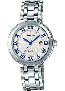 Японские наручные  женские часы Casio SHE-4033D-7A. Коллекция Sheen
