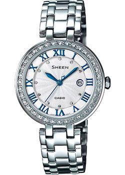 Японские наручные  женские часы Casio SHE-4034D-7A. Коллекция Sheen