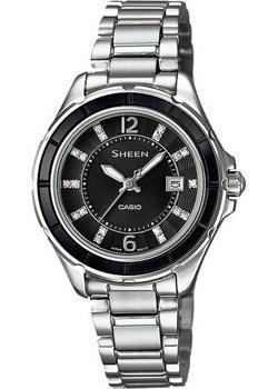 Японские наручные  женские часы Casio SHE-4045D-1A. Коллекция Sheen