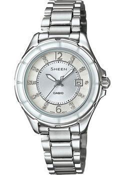 Японские наручные  женские часы Casio SHE-4045D-7A. Коллекция Sheen