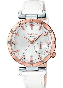 Японские наручные  женские часы Casio SHE-4051PGL-7A. Коллекция Sheen