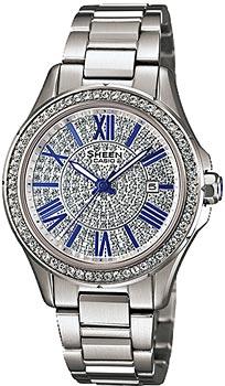 Купить Часы женские Японские наручные  женские часы Casio SHE-4510D-7A. Коллекция Sheen  Японские наручные  женские часы Casio SHE-4510D-7A. Коллекция Sheen