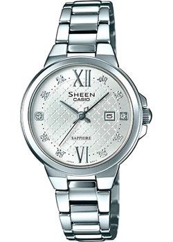Японские наручные  женские часы Casio SHE-4524D-7A. Коллекция Sheen