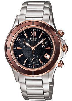 Японские наручные  женские часы Casio SHE-5516SG-5A. Коллекция Sheen