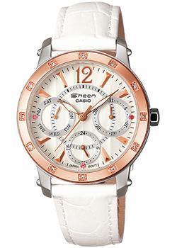 Японские наручные  женские часы Casio SHN-3012GL-7A. Коллекция Sheen