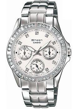 Японские наручные  женские часы Casio SHN-3013D-7A. Коллекция Sheen