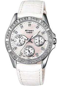 Японские наручные  женские часы Casio SHN-3013L-7A. Коллекция Sheen