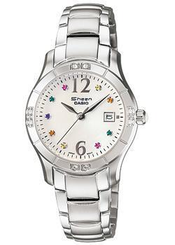 Японские наручные  женские часы Casio SHN-4019DP-7A. Коллекция Sheen