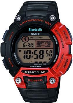 Японские наручные  мужские часы Casio STB-1000-4E. Коллекция Digital