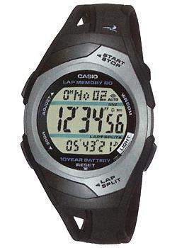 Японские наручные  мужские часы Casio STR-300C-1. Коллекция Phys